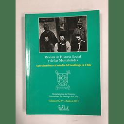 Revista de Historia Social y de las Mentalidades. Volumen 16 nº1 junio 2012