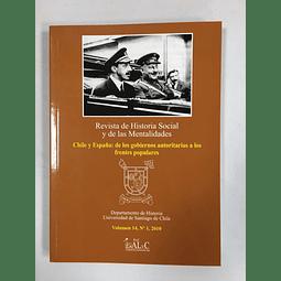Revista de Historia Social y de las Mentalidades. Volumen 14 nº1 2010