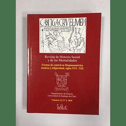 Revista de Historia Social y de las Mentalidades. Volumen 14 nº2, 2010