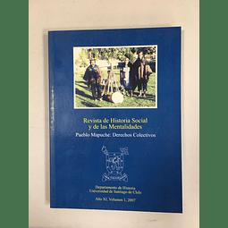 Revista de Historia Social y de las Mentalidades. Año XI volumen 1, 2007