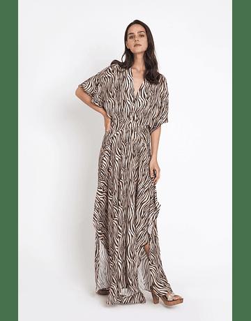 Vestido Baltic Zebra largo