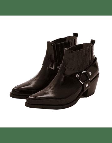 Zapato vaquero ESTRIBO negro