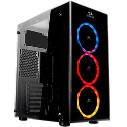 SIDESWIPE + 4 FANS RGB - REDRAGON