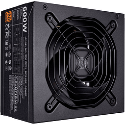 FUENTE REAL 600W 80PLUS BRONZE - COOLER MASTER