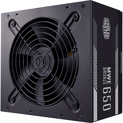 FUENTE REAL 650W 80PLUS BRONZE - COOLER MASTER