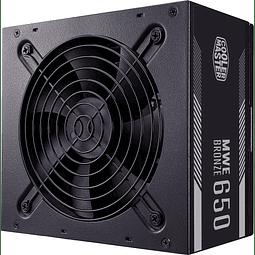 FUENTE REAL 650W 80P BRONZE V2 - COOLER MASTER