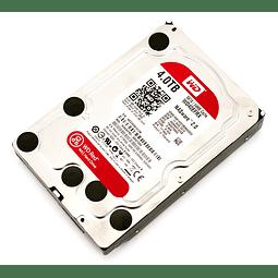 DISCO 4 TERAS PC / 64MB / 5400RPM - WESTERN DIGITAL RED NAS