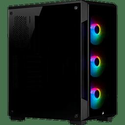 ICUE 220T BLACK + 3 FANS RGB - CORSAIR