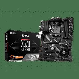 X570-A PRO - MSI / AMD RYZEN