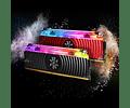 MODULO 8GB (3000 MHZ) SPECTRIX LIQUID RGB - XPG