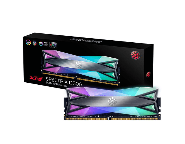 MODULO 16GB (3000 MHZ) CRYSTAL RGB - XPG