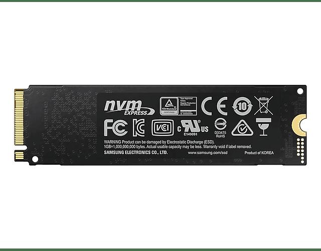 SOLIDO (M2) NVMe 1TB 970EVO PLUS - SAMSUNG