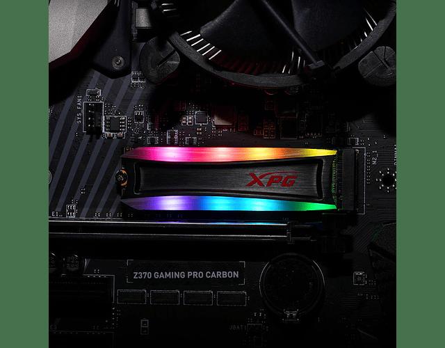 SOLIDO (M2) NVMe 2TB RGB - XPG S40G