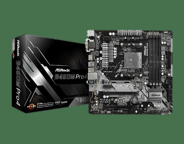 B450M PRO4 - ASROCK / AMD RAYZEN