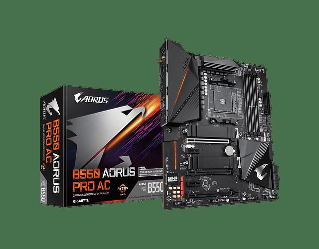 B550 AORUS PRO AC WIFI - AMD RYZEN