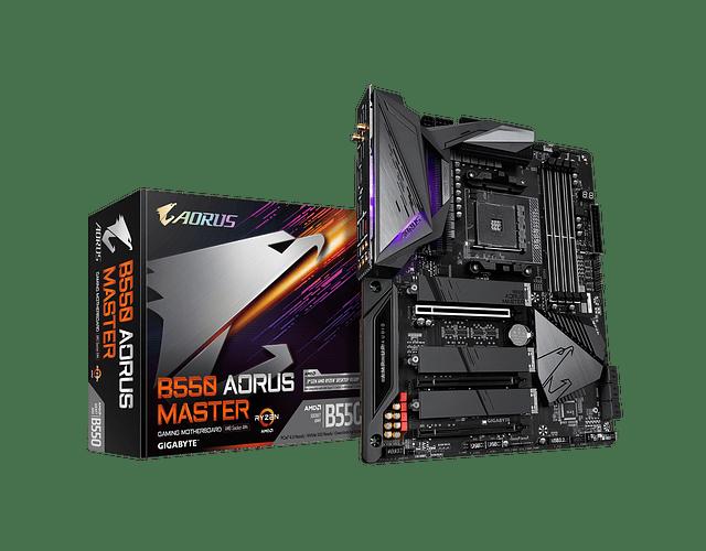 B550 AORUS MASTER - AMD RYZEN