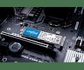 SOLIDO (M2) NVMe 250GB P2 - CRUCIAL