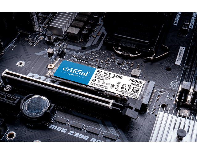 SOLIDO (M2) NVMe 250GB P2 CRUCIAL