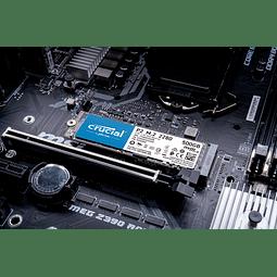 SOLIDO (M2) NVMe 500GB P2 - CRUCIAL
