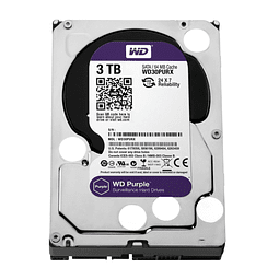 DISCO 3 TERAS PC / 64MB / 7200RPM - WESTERN DIGITAL PURPURA