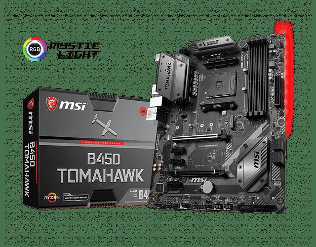 B450 TOMAHAWK - MSI / AMD RYZEN