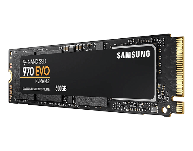 SOLIDO (M2) NVMe 500GB 970EVO PLUS - SAMSUNG