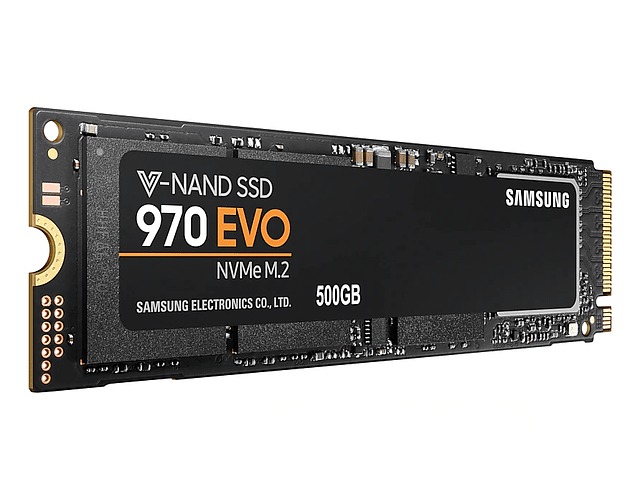 SOLIDO (M2) NVMe 500GB 970EVO PLUS - SAMSUNG