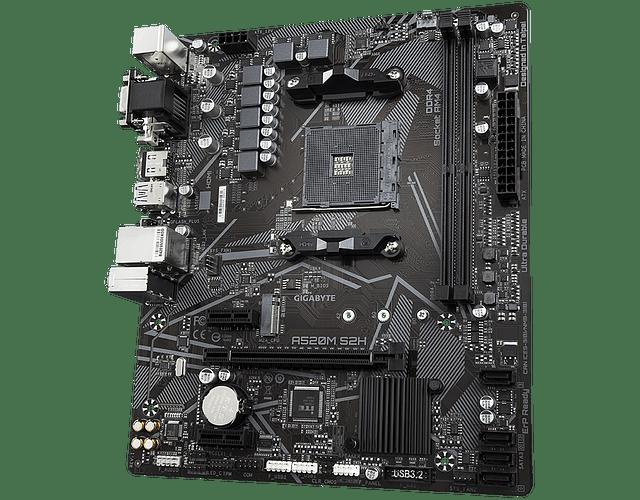 A520M S2H - GIGABYTE / AMD RYZEN