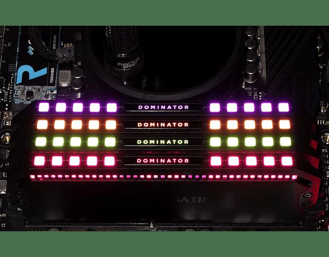 MODULO 8GB (3000 MHZ) DOMINATOR PLATINO RGB - CORSAIR