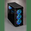 ICUE CRYSTAL 465X BLACK +3 FANS RGB - CORSAIR