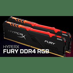 MODULO 8GB (3000 MHZ) FURY RGB - HYPERX