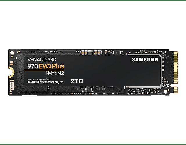 SOLIDO (M2) NVMe 2TB 970EVO PLUS - SAMSUNG