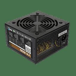 FUENTE REAL 500W VX500  - AEROCOOL