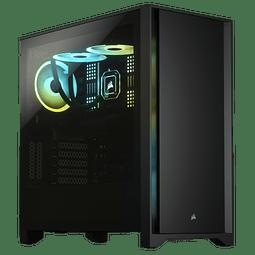 ICUE 4000D BLACK / 1 FAN - CORSAIR