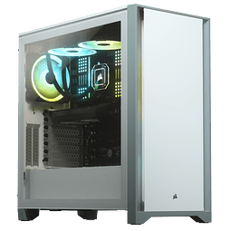 ICUE 4000D WHITE / 1 FAN - CORSAIR