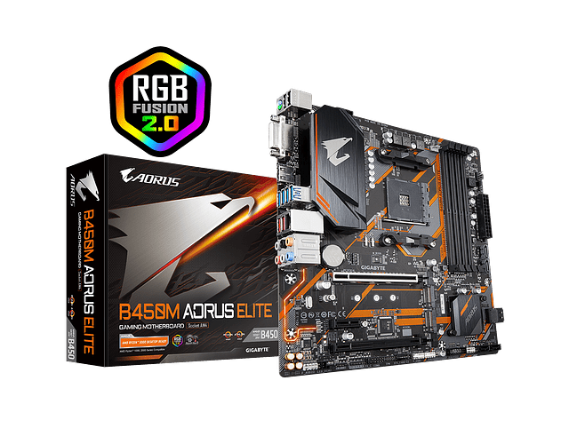 B450M AORUS ELITE - GIGABYTE / AMD RYZEN
