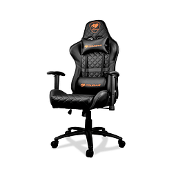 SILLA ARMOR ONE BLACK - COUGAR