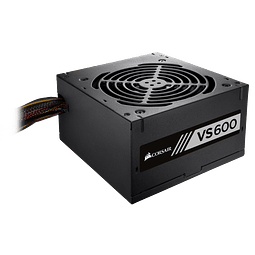 FUENTE REAL 600W 80P WHITE - CORSAIR