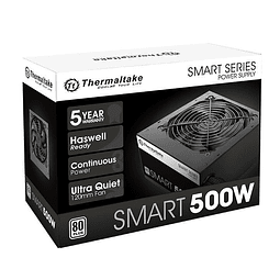 FUENTE REAL 500W 80P SMART - THERMALTAKE