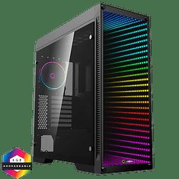 CHASIS ABYSS PANEL EN VIDRIO RGB - GAMEMAX