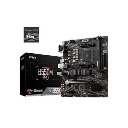 B550M PRO - MSI / AMD RYZEN