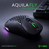 AQUILA FLY INALAMBRICO - MATE BLACK / WHITE MATE