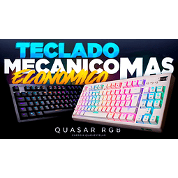 QUASAR MECANICO RGB - VSG