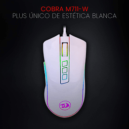 COBRA WHITE RGB - REDRAGON