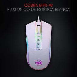 COBRA WHITE RGB - REDRAGON