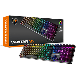 VANTAR MX MECANICO RGB - COUGAR