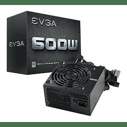 FUENTE REAL 600W 80P WHITE - EVGA