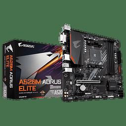 A520M AORUS ELITE - GIGABYTE / AMD RYZEN