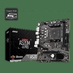 A520M-A PRO - MSI / AMD RYZEN