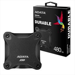 SOLIDO SATA (SSD) USB 480GB ANTIGOLPE - ADATA